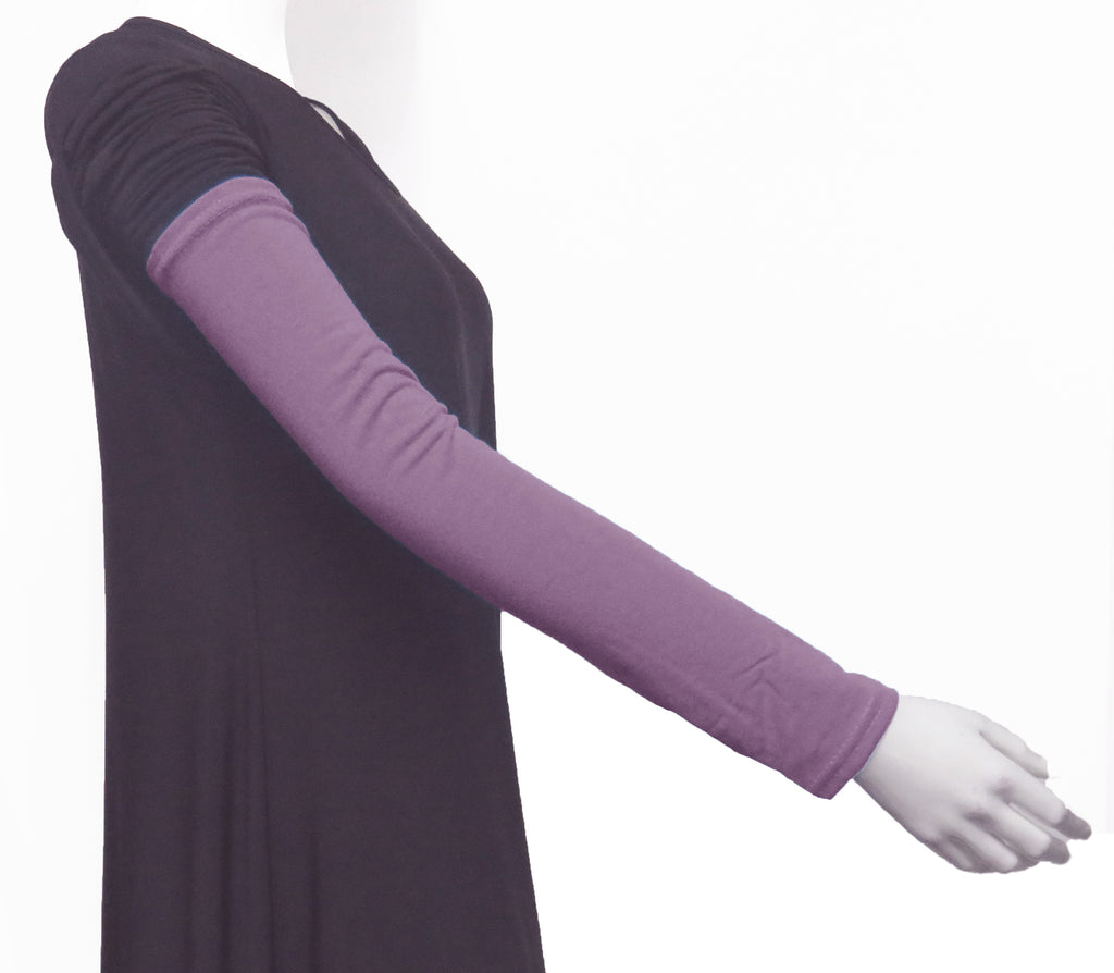 Extra Long Arm Cover/Sleeves - Mauve