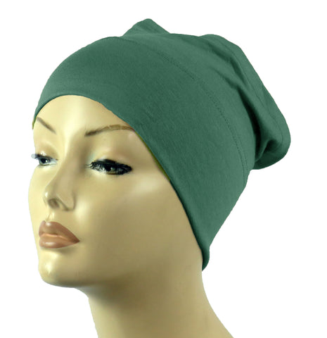 Half Tube Bonnets - Emerald Green