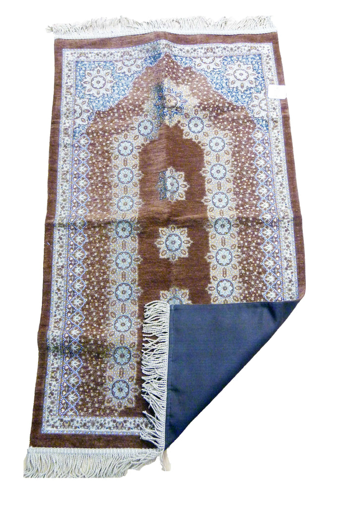 BEAUTIFUL LUXURY PRAYER MAT GG - GOLDEN BROWN