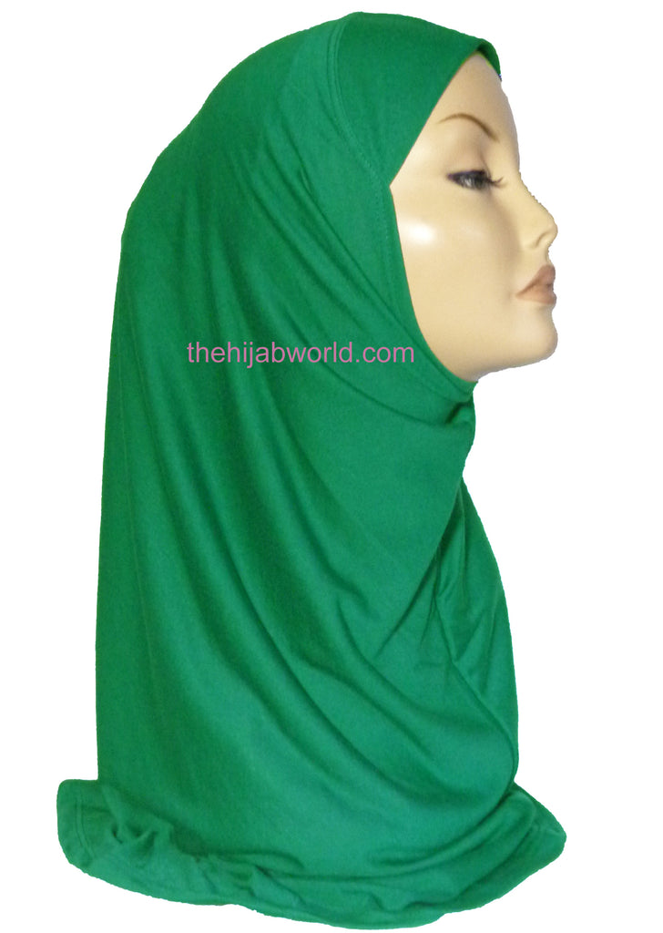 AL AMIRA HIJAB 1 PC. -GREEN