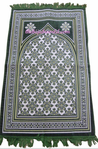 PADDED PRAYER MAT WI - GREEN