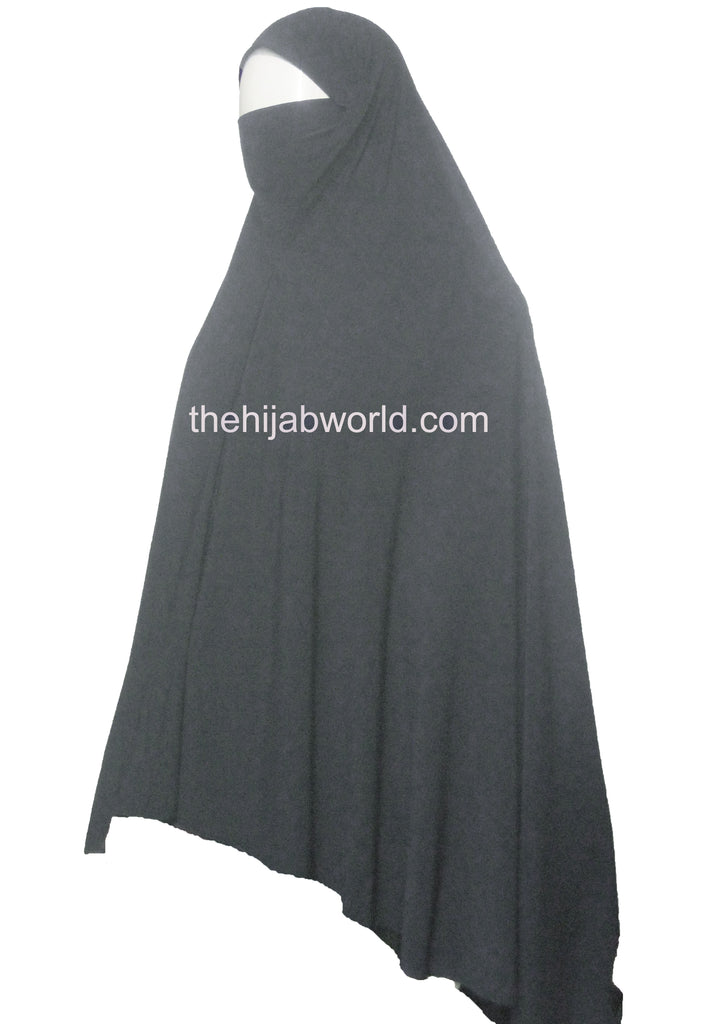 QUALITY BURKHA/KHIMAR 5XL - GREY