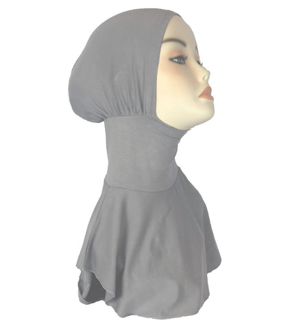 NEW FULL NINJA INNER UNDERSCARF - Grey