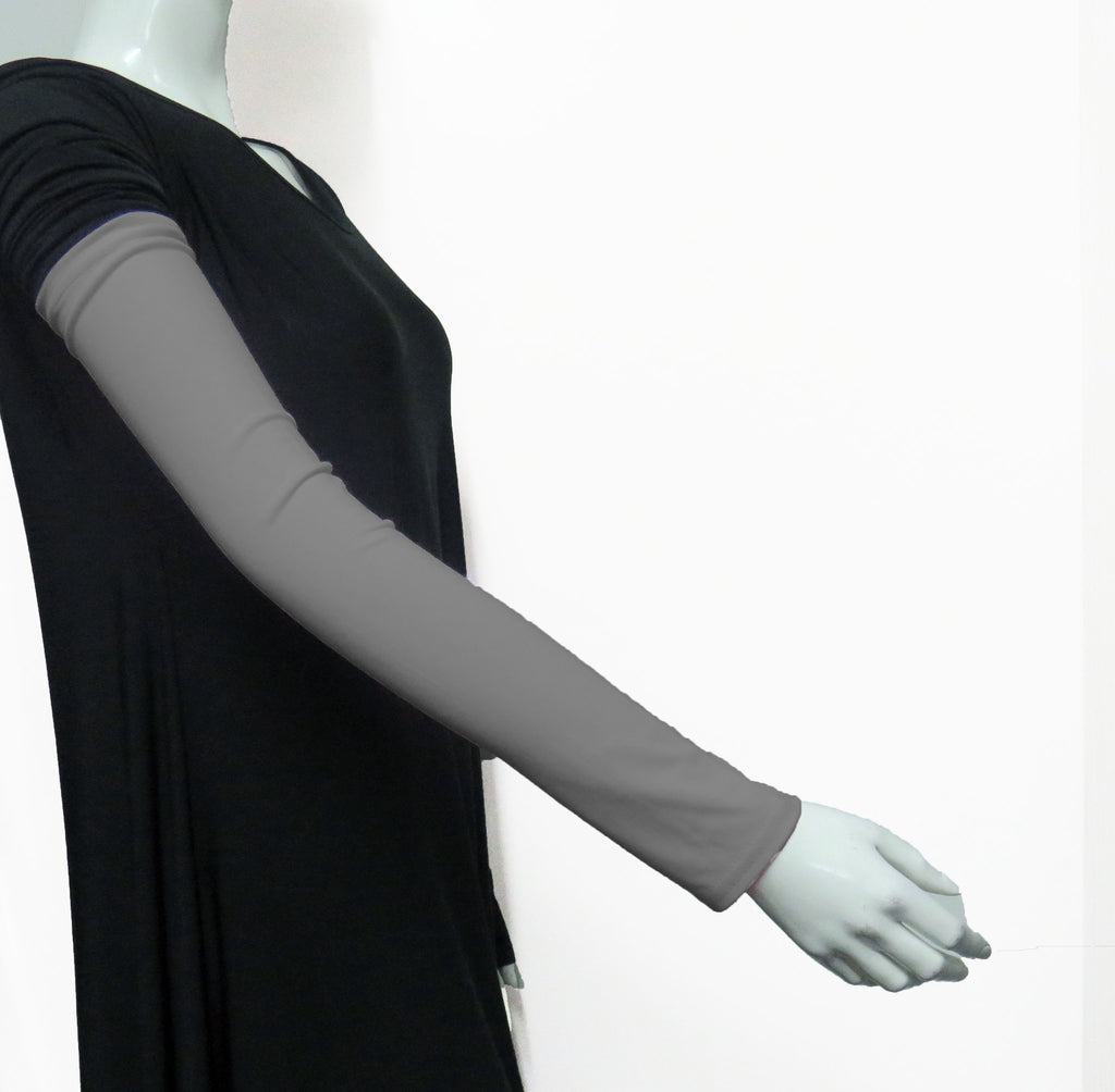 Extra Long Arm Cover/Sleeves - Grey