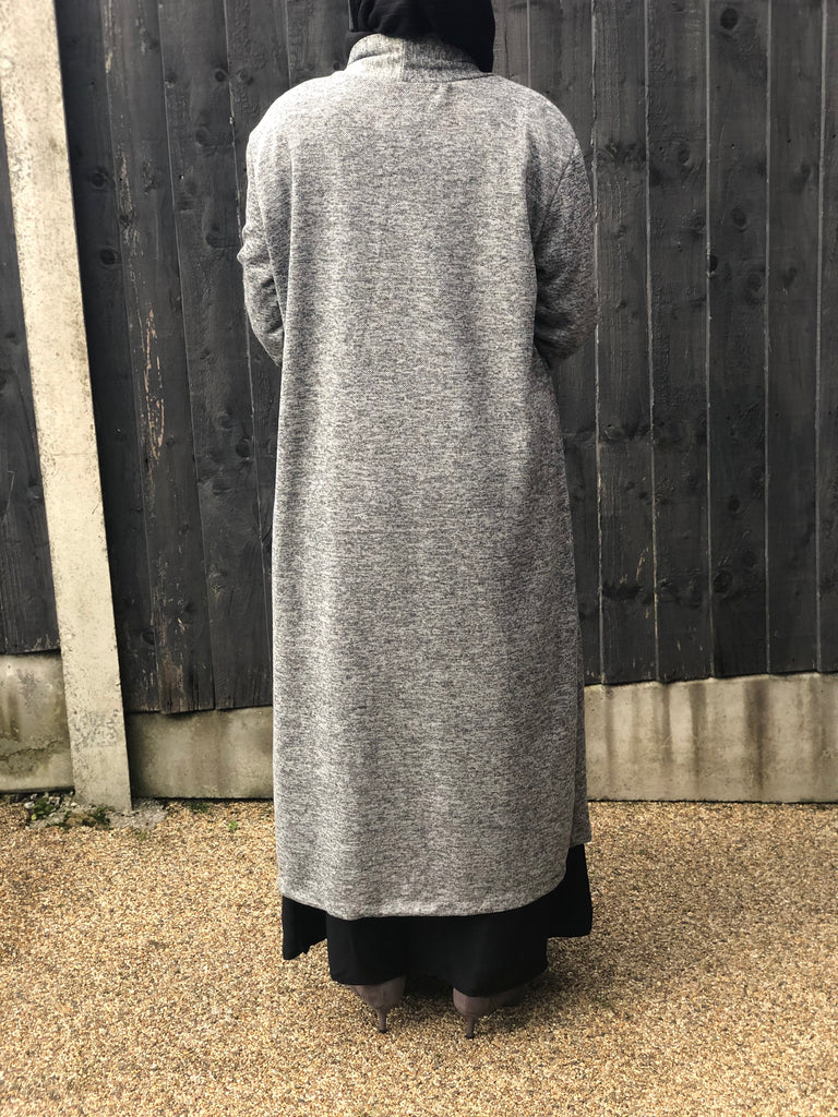 Warm Long Cardigan/ Coatigan- Mc110-Mix