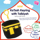 NEW! Ka'bah Keyring with Talbiyah