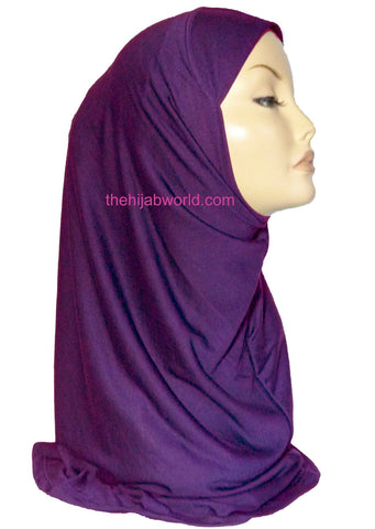 AL AMIRA HIJAB 1 PIECE - PURPLE