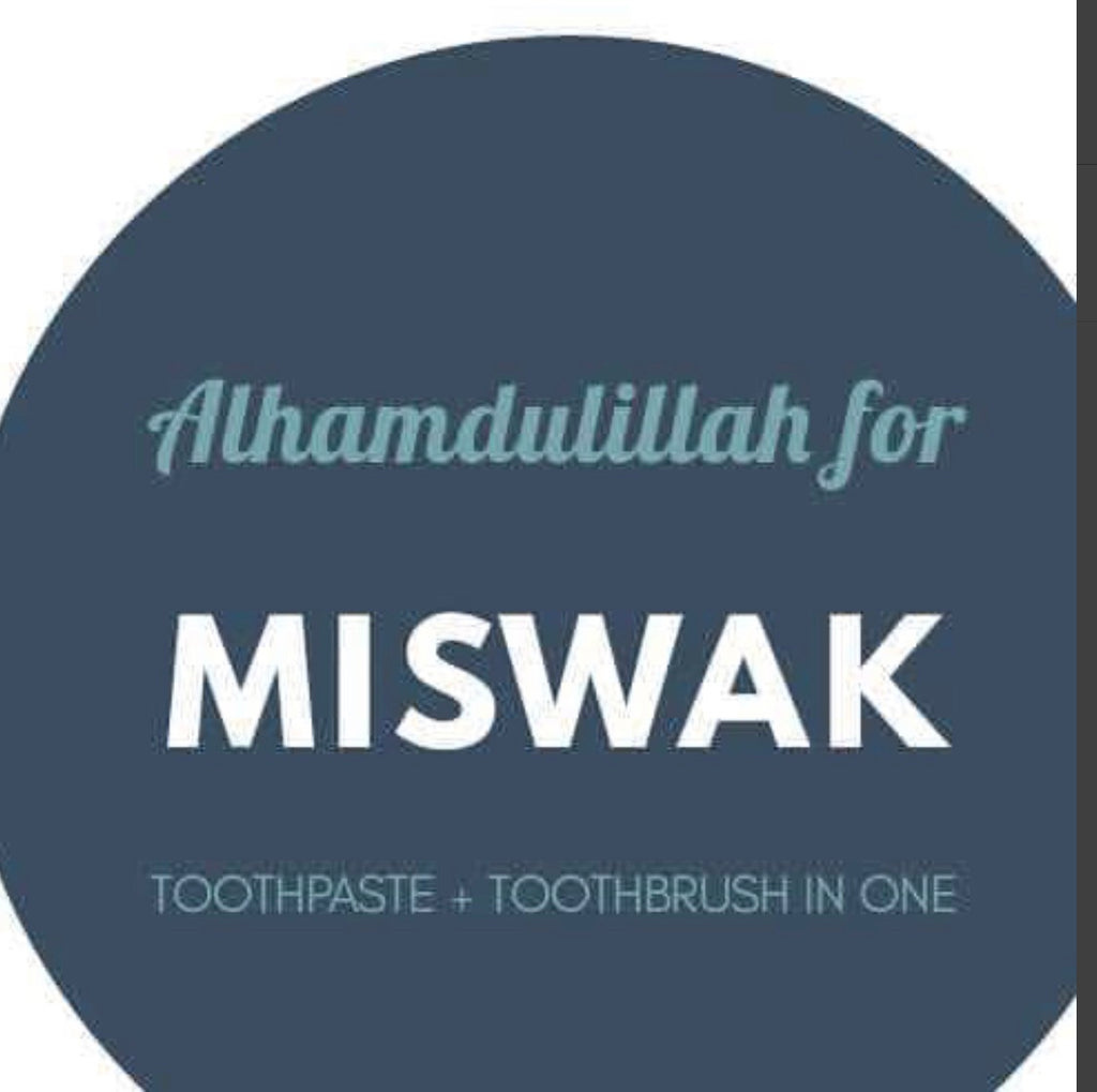 Miswak Crystal ToothBrush travel pack