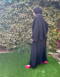 NEW Nida Side Pleat Abaya - FA121