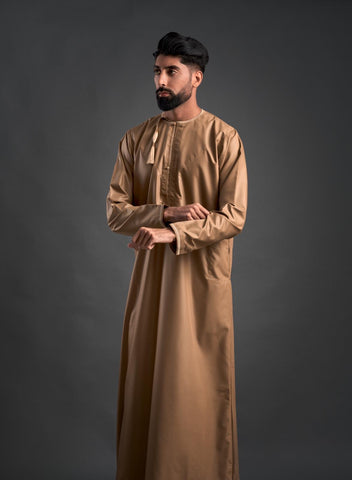 Boys Faris Latest Jubba/Thobe - Gold