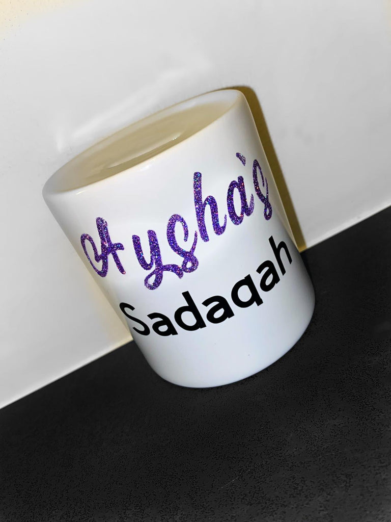 Personalised money pot