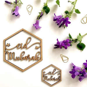 Eid Mubarak Hanging Ornaments Pack