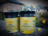 BLACK SEED INFUSED ORGANIC RAW HONEY (340g ) by Shifaa - Ruqya