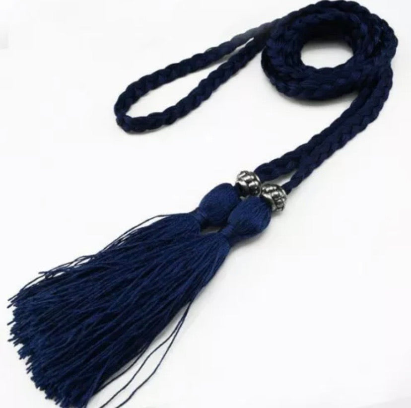 Rope Belt for Abayas and Dress - Colours