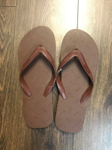 HAJJ OR UMRAH FLIP FLOPS/SLIPPERS - BROWN
