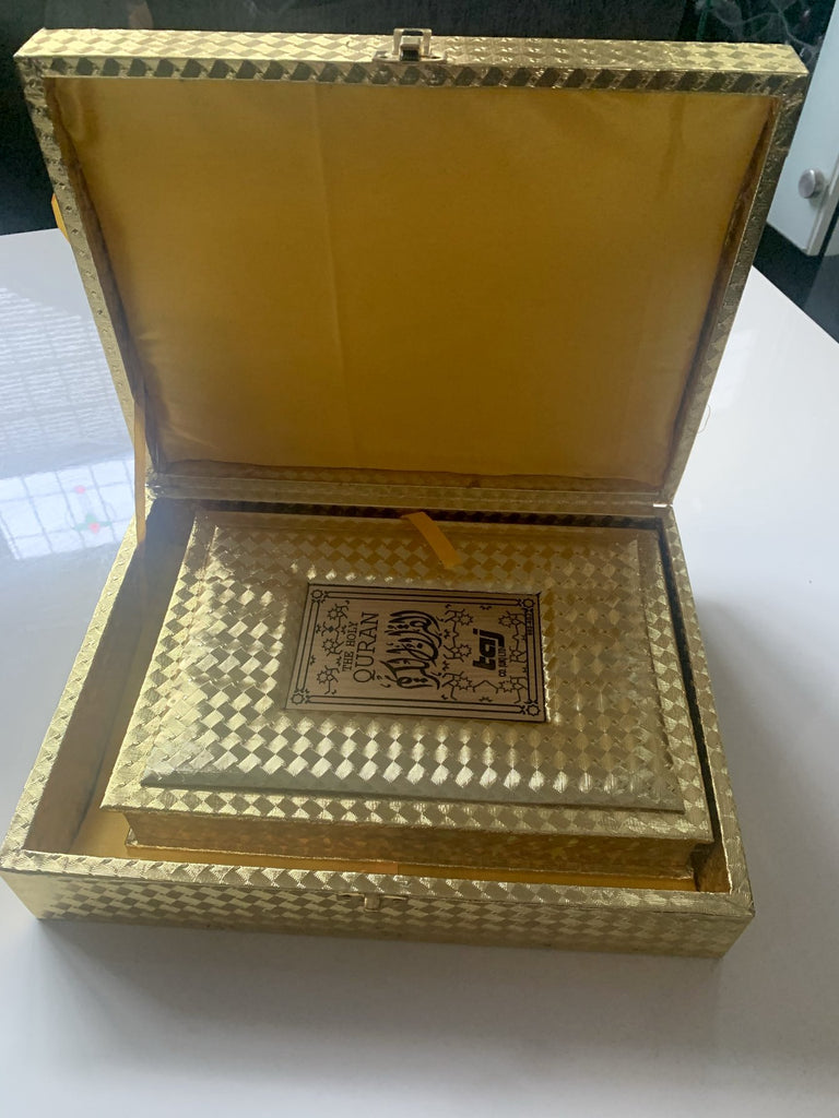 Quran Colour Coded Tajweed with Quran Case