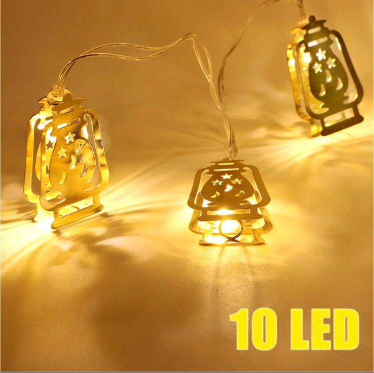 Eid and Ramadan metal String Lights
