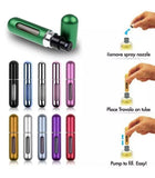 5ML Perfume Atomiser Bottle Aftershave Atomizer Pump Travel Refillable Spray