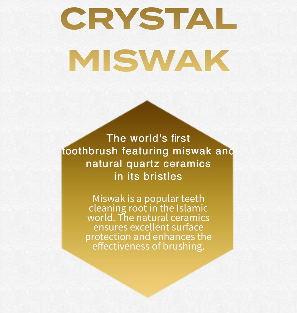 Exclusive Miswak Crystal ToothBrush