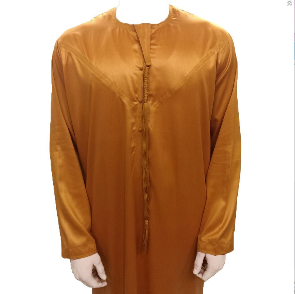 KANDURA /EMIRATI THOBES MT - Mustard Orange