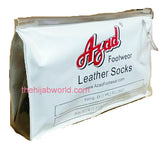 AZAD NEW LEATHER SOCKS/KHUFFAIN - NON FLEECE TRAVEL PACK