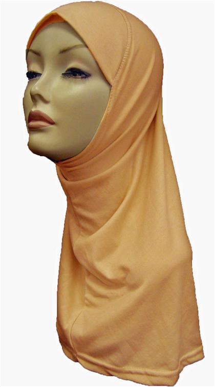 AL-AMIRA HIJAB 1 PC. - LIGHT ORANGE