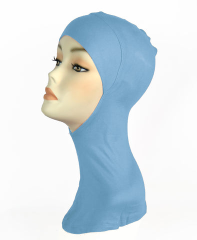 FULL NINJA INNER UNDERSCARF -Light Blue
