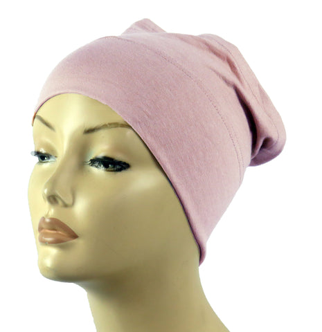 Half Tube Bonnets - Light Pink