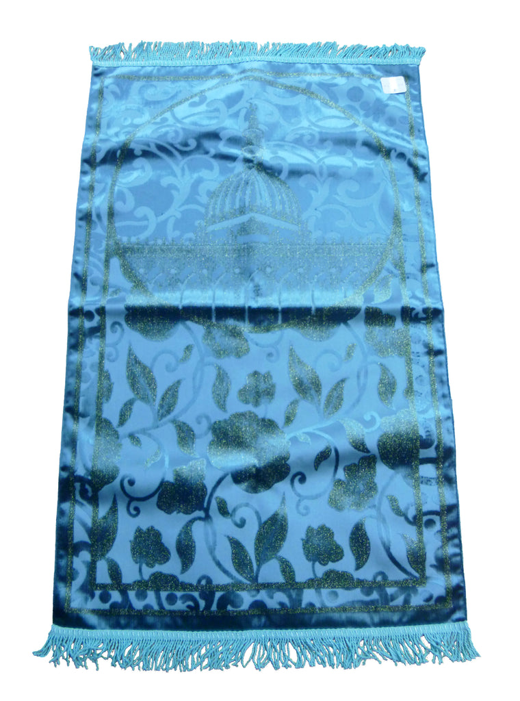 Premium LUXURY PRAYER MAT GG - BLUE