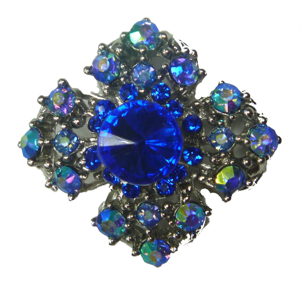 Mini Brooch 15- Blue