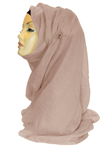 Improved Maxi Hijab/Scarf - Blush