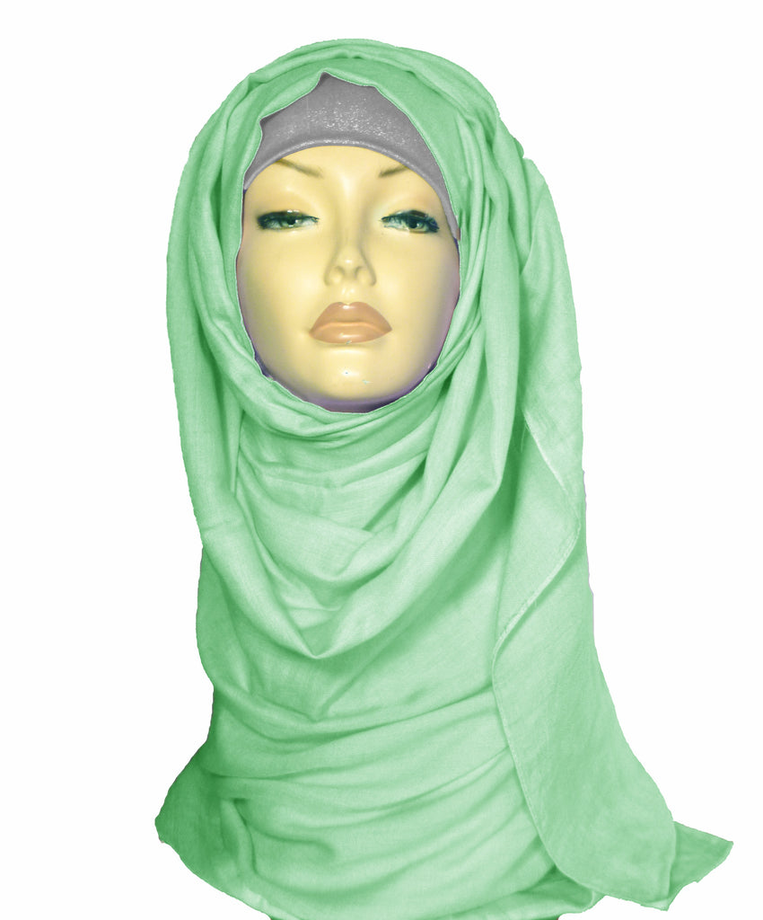 Large Quality Hijab/Scarf - Mint