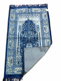 Premium  PRAYER MAT WI- NAVY