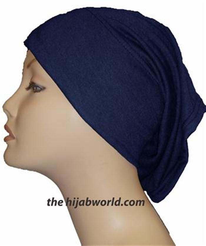 Tube Plain Underscarf - Navy