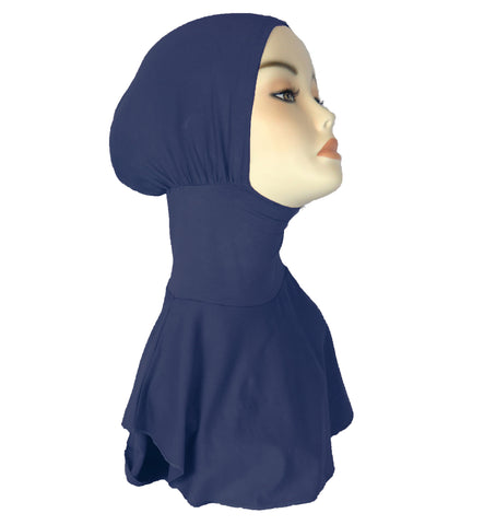 NEW FULL NINJA INNER UNDERSCARF - Navy