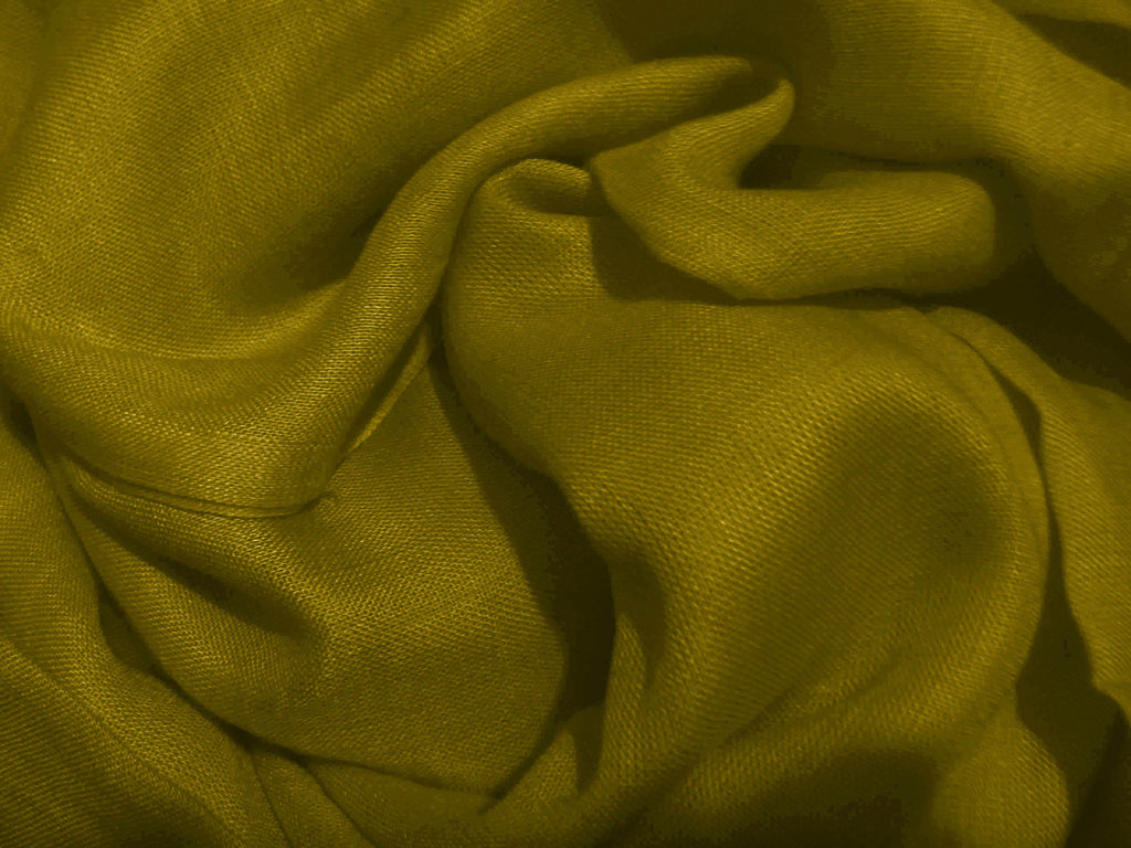 Large Linen Cotton Hijab/Scarf - Olive Green