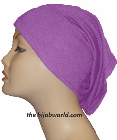 Tube Plain Underscarf - Orchid