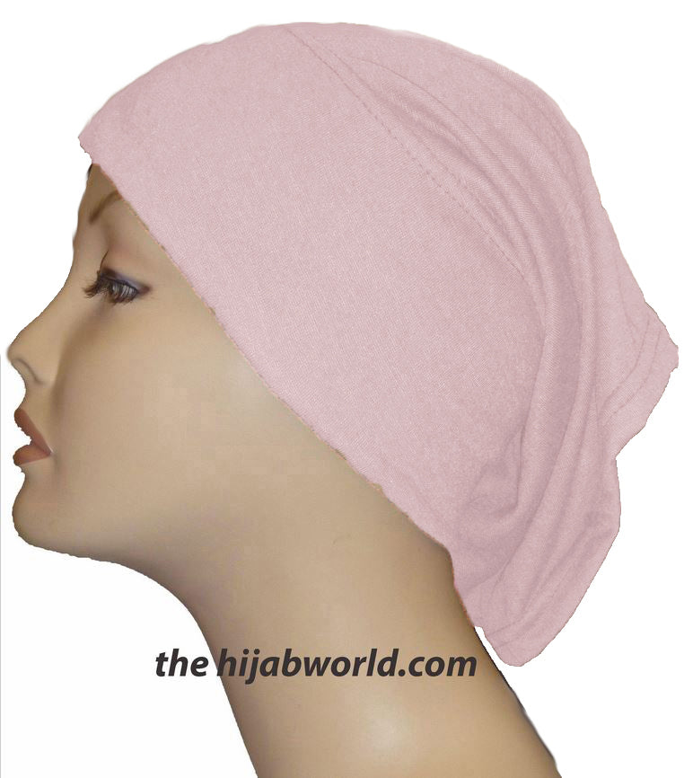 Tube Plain Underscarf - Pale Pink