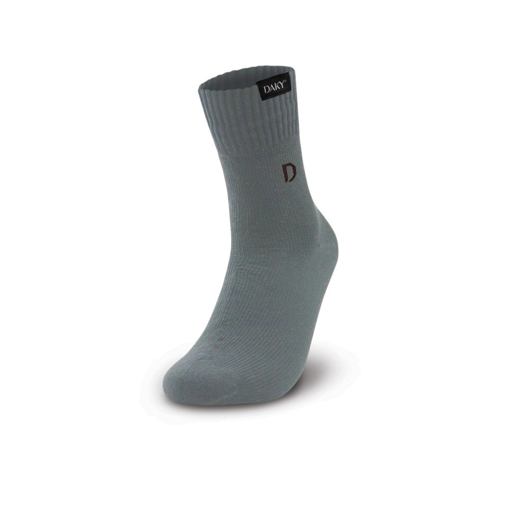 WUDU COMPLIANT WATERPROOF BREATHABLE SOCKS- PHANTOM X -GREY