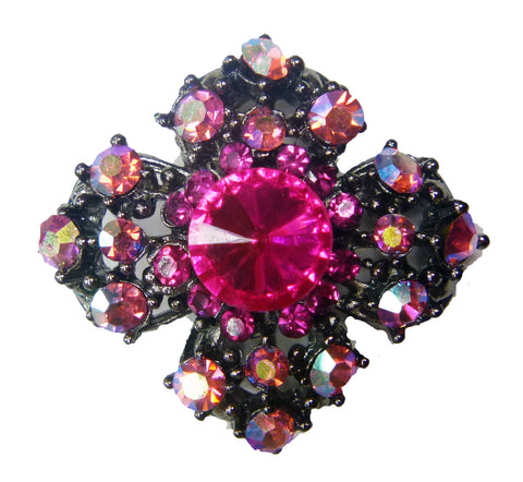 Mini Brooch 15- Pink