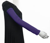 Extra Long Arm Cover/Sleeves - Deep Purple