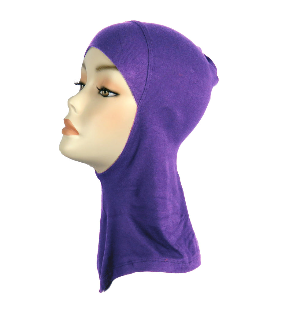 Sports Hijab/ Ninja underscarf -Purple