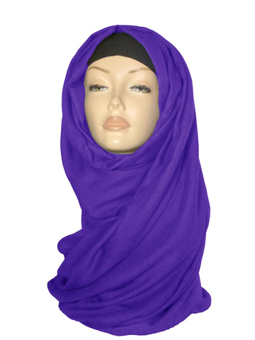 Large Quality Hijab/ Scarf - Purple