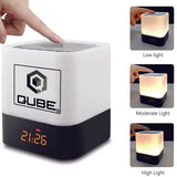 QURAN CUBE SPEAKER. Q QUBE with LED Touch Lamp