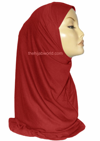 INSTANT AL AMIRA HIJAB 1 PC. - RED
