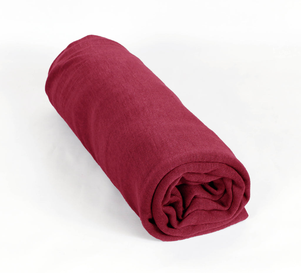 JERSEY PLAIN MAXI HIJAB/ SHAWL OS-RED