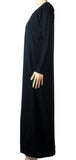 Plain Simple Abaya CA-BLACK HW