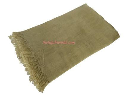 LARGE SILKY SHEEN SCARF SS- DEEP GOLD