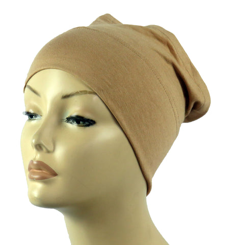 Half Tube Bonnets - Tan