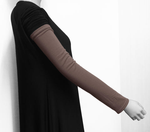 Extra Long Arm Cover/Sleeves -Taupe